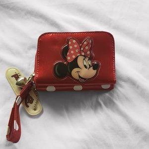 Minnie Mouse Wristlet Wallet